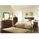 Tatiana Warm Brown King Headboard Product Image