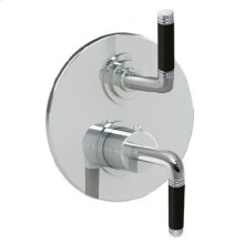 """7095cb - Trim 1/2"""" Thermostatic Trim With Volume in Polished Chrome"""