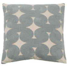 "Luxe Pillows Boucle Swirls (22"" x 22"")"