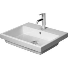 Vero Air Vanity Basin Without Faucet Hole