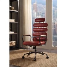 RED EXECUTIVE OFFICE CHAIR