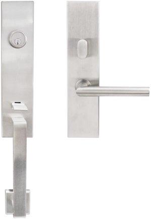 "MH Handleset Tubular Frankfurt Entry 2-3/8"" 32D LH Product Image"