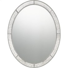 Revival Mirror in Silver Leaf