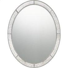 Revival Mirror in Silver Leaf