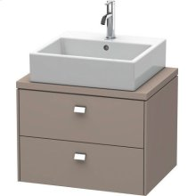Brioso Vanity Unit For Console Compact, Basalt Matte (decor)