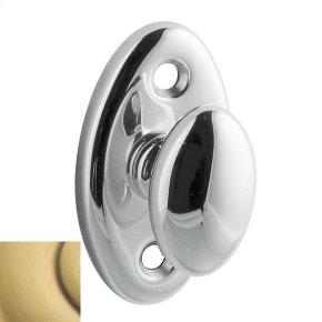Satin Brass and Brown 6751 Turn Piece