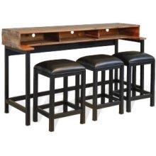 Havana Console Table (Wood Base)