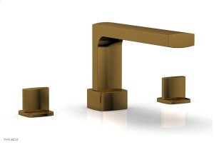 RADI Deck Tub Set - Blade Handles 181-40 - French Brass Product Image
