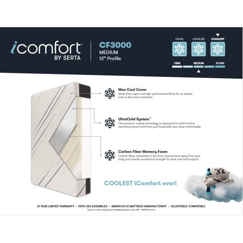 iComfort - CF3000 - Medium - King