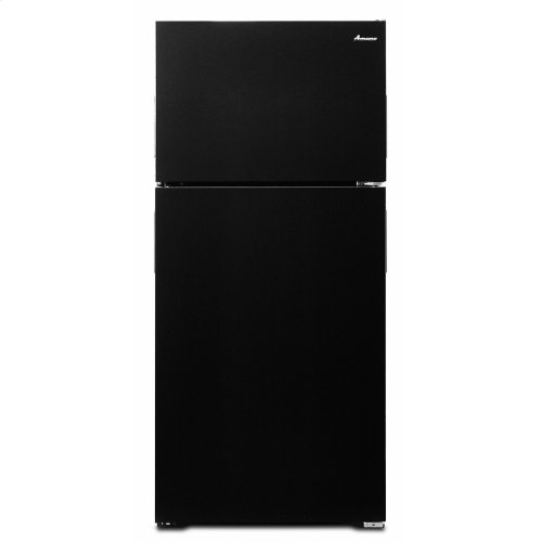 28-inch Top-Freezer Refrigerator with Dairy Bin - Black