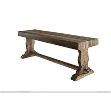 "24"" Wooden Bench"