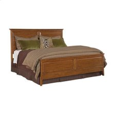 Cherry Park Panel King Bed - Complete