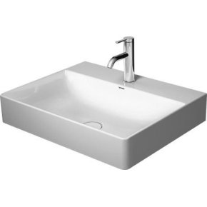 Durasquare Furniture Washbasin 3 Faucet Holes Punched