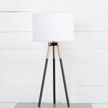 Peter Table Lamp-charcoal Iron