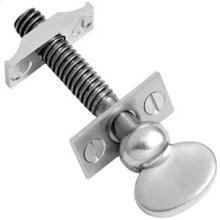 "Urban Brass Sash screw, 3 9/16"" / 3/8"" thread"