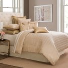 9 pc Queen Comforter Set Gold Product Image