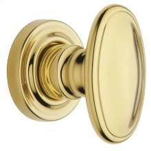 Lifetime Polished Brass 5057 Estate Knob