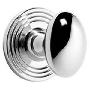 Satin Chrome Bathroom thumb turn, concealed fix
