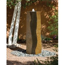"Basalt Column Fountains 60""h"
