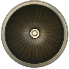 Bronze Small Round Fluted