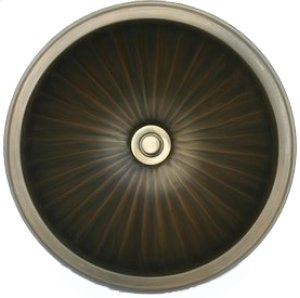 Bronze Small Round Fluted Product Image