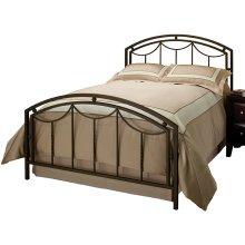 Arlington King Bed Set With Rails