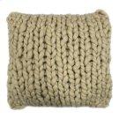 Abuela Wool Feather Cushion Sand 20x20 Product Image
