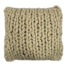Abuela Wool Feather Cushion Sand 20x20
