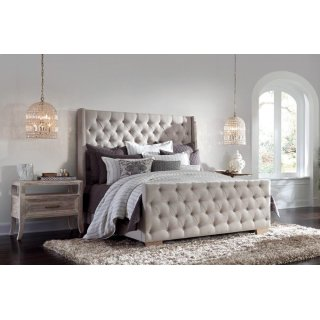 Laurent Tufted Bed Queen