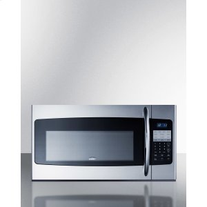 """30"""" Wide Over-the-range Microwave In Stainless Steel Product Image"""