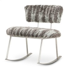 Pebblebeach Rocker Chair Mnd Brushedsilver