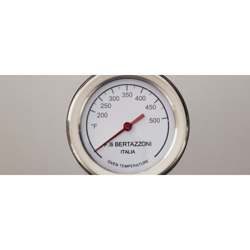 48 inch All-Gas Range 6 Brass Burner and Griddle Arancio