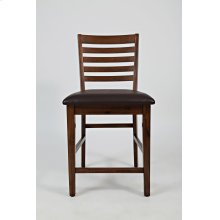 Coolidge Corner Ladderback Counter Stool