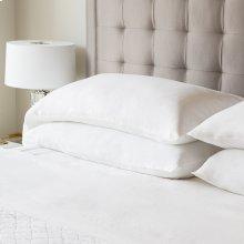 French Linen Queen Pillowcase Charcoal