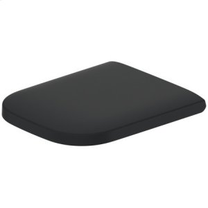 Happy D.2 Toilet Seat And Cover Inside Color Anthracite Matt, Outside Color Anthracite Matt