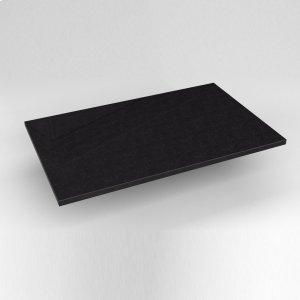 "Engineered Stone 31"" X 19"" X 3/4"" Quartz Dry Vanity Top In Lava Black Product Image"
