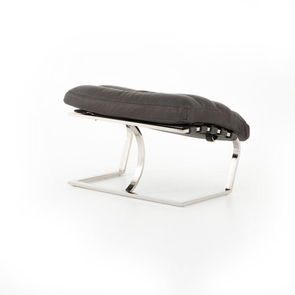 Ottoman Configuration Pure Graphite Cover Goodwyn Chair + Ottoman