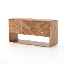 Caspian 6 Drawer Dresser