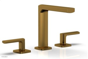 RADI Widespread Faucet Lever Handles High Spout 181-02 - French Brass Product Image
