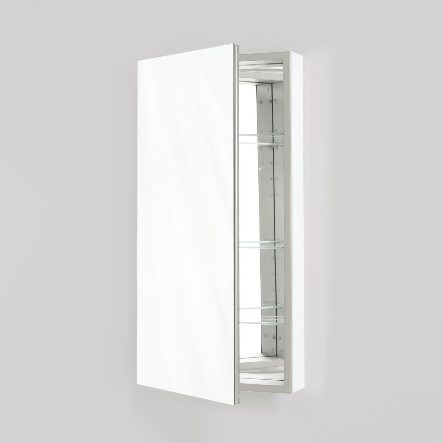 """Additional M Series 15-1/4"""" X 30"""" X 6"""" Flat Top Cabinet With Polished Edge and Left Hinge"""