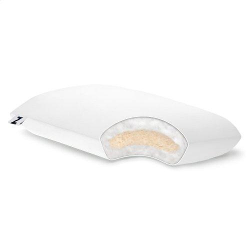 Shredded Latex + Gelled Microfiber ® _x000D_ Queen