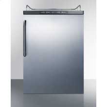 Built-in Residential Beer Dispenser, Auto Defrost W/digital Thermostat, Ss Wrapped Door, and Tb Handle; Sold Without Tap Kit for Do-it-yourselfers