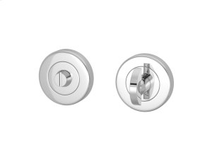 Half Moon Turn & Release Solid In Bright Chrome Product Image