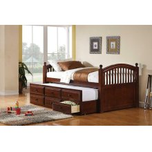 Coastal Chestnut Twin Daybed