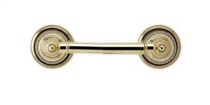 REGENT CUT CRYSTAL Paper Holder KES50 - Polished Brass Product Image