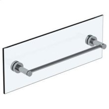 "Loft 2.0 18"" Shower Door Pull / Glass Mount Towel Bar"