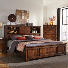 Wolf Creek Bookcase Bed