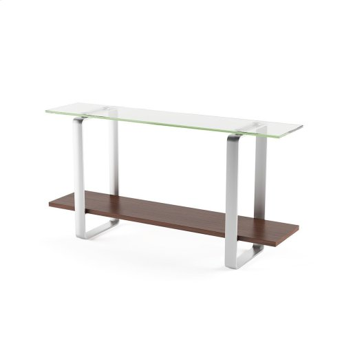 Console Table 1643 in Chocolate Stained Walnut
