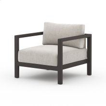 Stone Grey Cover Sonoma Outdoor Chair, Bronze