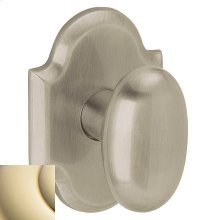Lifetime Polished Brass 5024 Oval Knob